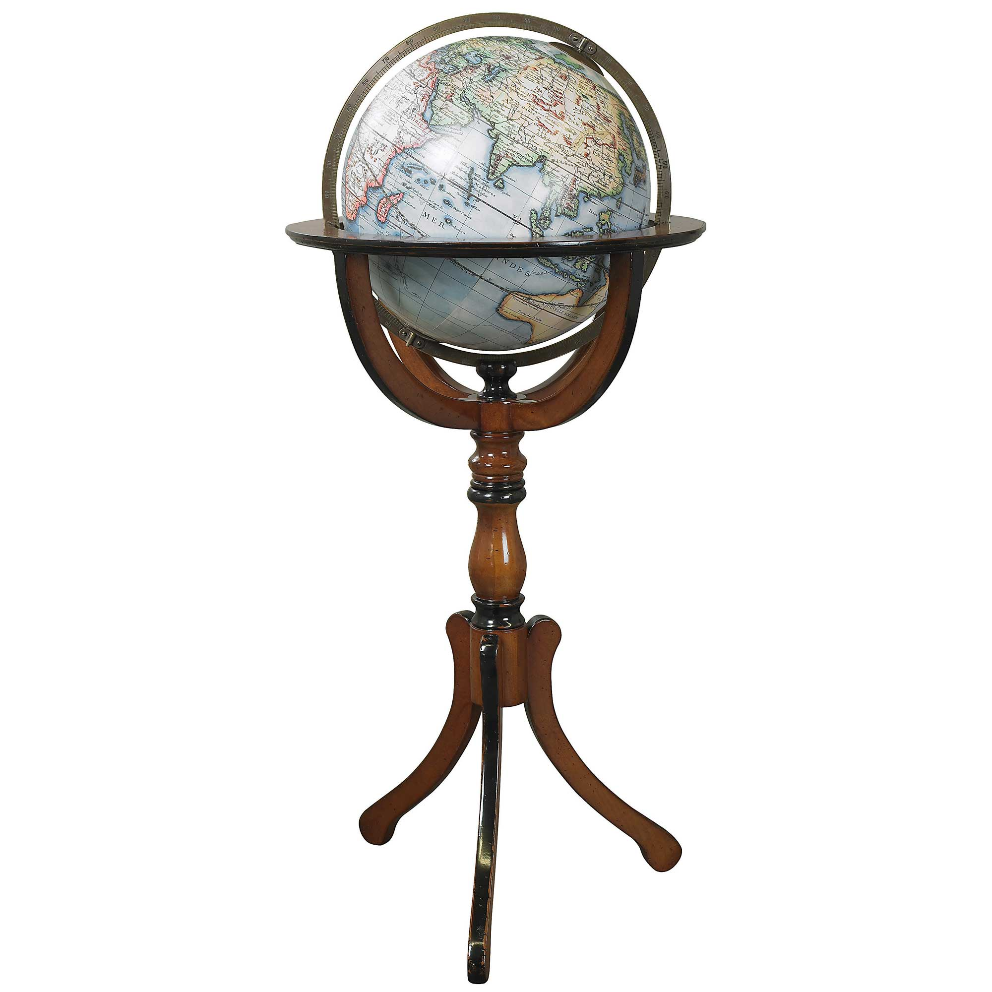 antique library globe reproduction or old globe or. Black Bedroom Furniture Sets. Home Design Ideas