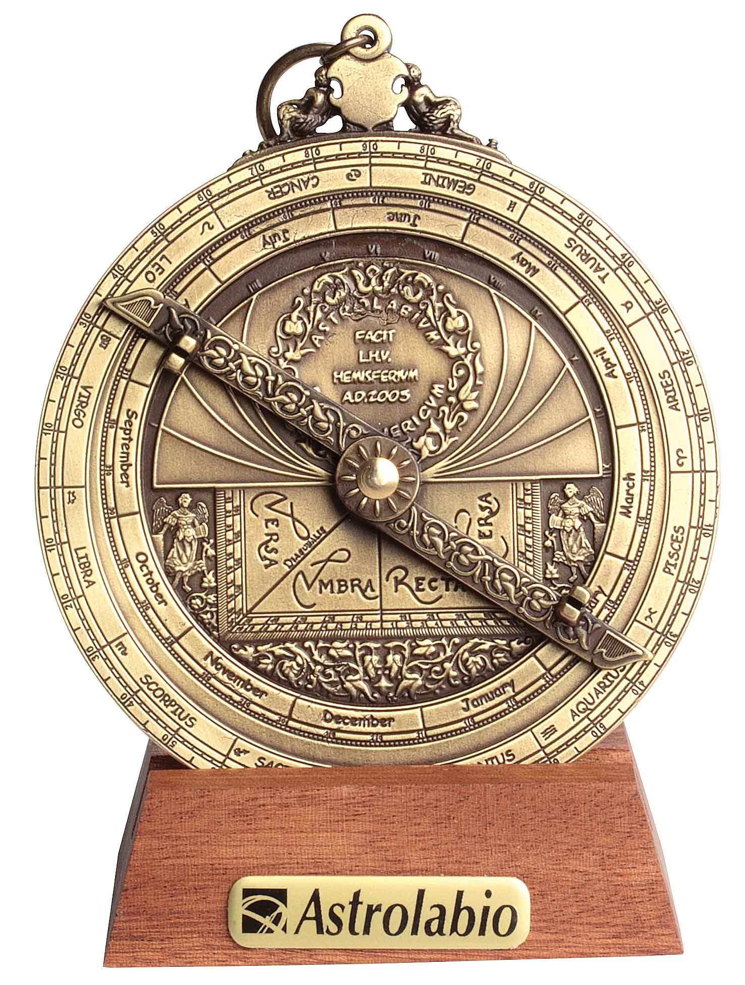 Astrolabe Image Report Inventory Number 52473: Modern Astrolabe (Medium Size