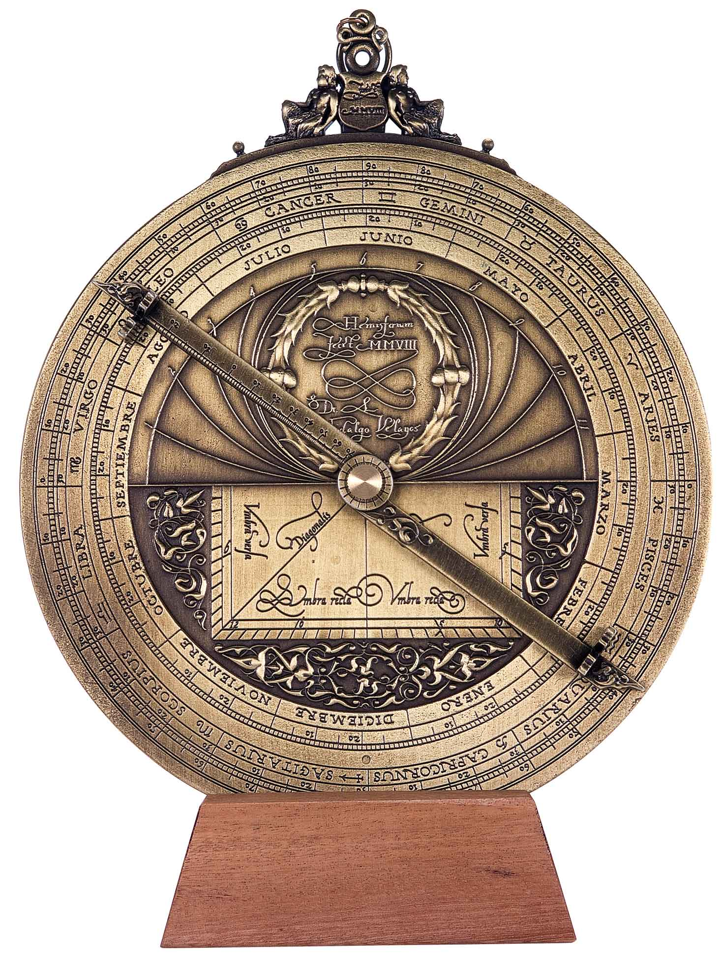 Astrolabe Image Report Inventory Number 52473: Modern Astrolabe (Large