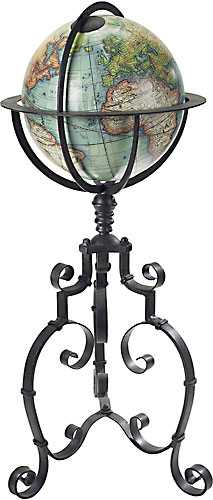 Globe Terrestre Antique Vaugondy 1745 (reproduction) de AM.