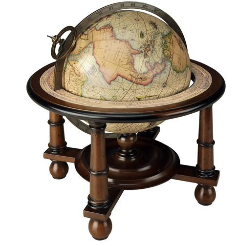 Globe Antique Mercator 1541 (reproduction) de AM.