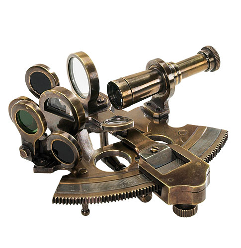 Bronze Sextant (Pocket Size) from AM.