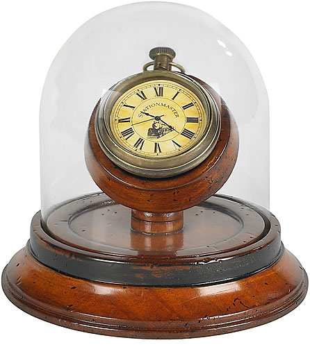 Antique Pocket Watch in Victorian Dome from AM.
