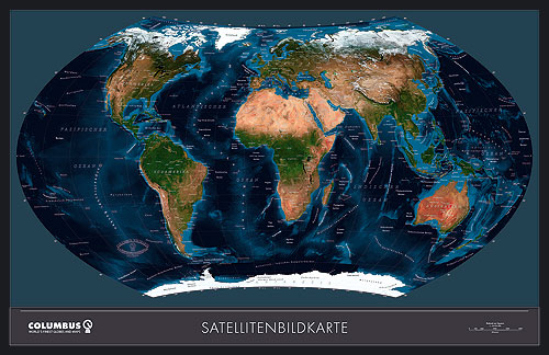 Ting World map (Satellite View) or Map of World or Map of the World