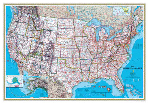Usa Map Classic Serie Or Map Of Usa