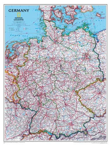 Germany Map Or Map Of Germany