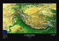 Himalaya & Tibet Map. Please click the image to see the item sheet.