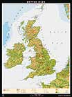 Map of UK from Klett-Perthes