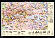 City map of London from Klett-Perthes