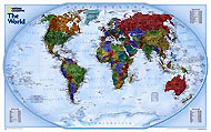 "World Map ""Explorer"" Serie. Please click the image to see the item sheet."