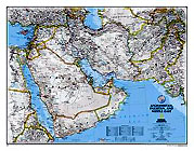 Afghanistan and Pakistan and Middle East Map. Please click the image to see the item sheet.
