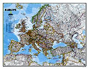 "Europe Map ""Classic"" Serie. Please click the image to see the item sheet."