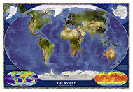 World map (Satellite View). Please click the image to see the item sheet.