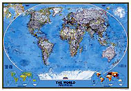 "World Map ""Classic"" Serie (3 parts). Please click the image to see the item sheet."