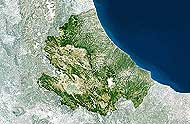 Abruzzo Map. Please click the image to see the item sheet.