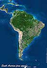 South America Map. Please click the image to see the item sheet.