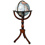 Antique Library Globe (reproduction). Please click the image to see the item sheet.