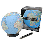 Expedition Erde World Globe with Audio/Video pen. Please click the image to see the item sheet.