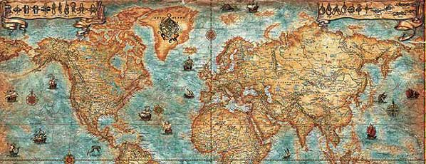 Ray co antique world maps or ray co old world map ray co antique world maps gumiabroncs Images